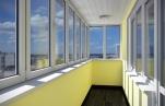 Остекление балкона и оборудование его рольставнями